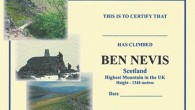 Ben Nevis Certificate by Brian Smailes Price : £1.55 Celebrate your […]