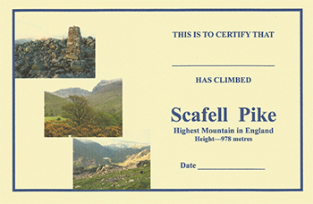 Scafell Pike Certificate by Brian Smailes Price : £1.45 Celebrate your […]