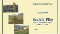 Scafell Pike Certificate by Brian Smailes Price : £1.60 Celebrate your […]