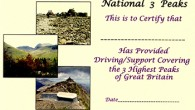 National 3 Peaks Support Team Certificate by Brian Smailes Price […]